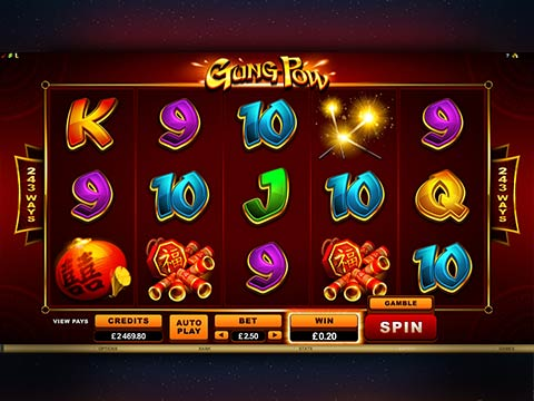 Gung Pow new online pokies game from Microgaming
