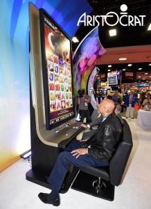 Behemoth slot machine cabinet by Aristocrat Leisure