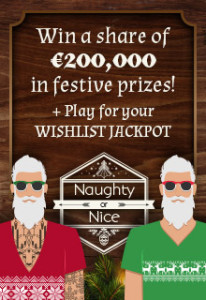 Naughty or Nice and Online Pokies Tournament at Fortune Lounge Casinos