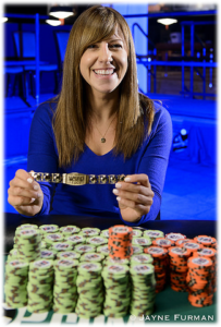 Kristin Bicknell wins Gold at 2016 WSOP