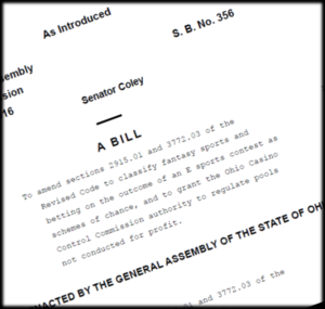Ohio Proposes Daily Fantasy Sports Laws in SB 365